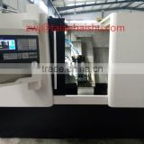 CNC300D cnc lathe metal cutting machine with power milling head