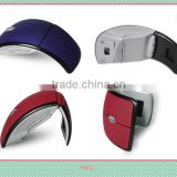2.4G arc folding wireless mouse