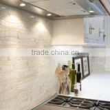 waterjet marble types of stones for walls, wall marble tiles for kitchen, water jet marble