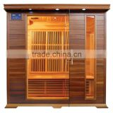 Factory Price Red Sauna,Infrared Sauna with Carbon Nano Heater
