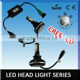 H8 led work lamp auto led head lighting jeep wrangler accessories led head lamp headlight cree led