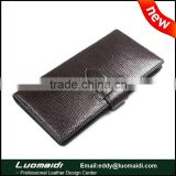 New arrival high quality lizard leather unisex passport holder/card holder,genuine lizard leather travel wallet