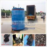 High quality factory direct sale coconut shell charcoal kiln