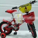 "12"" red colour steel frame children bikes bmx style bicycle children bikes good quality mini bike baby toys"
