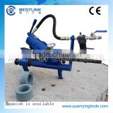 Pneumatic integral drill rod grinder and chisel bits grinding machine with CE certificate
