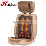 2016 NEW Best Popular foot print jade stone neck and back kneading massage cushion Thai massage