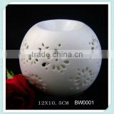 stronger white ceramic ball incense oil burner