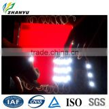 Light Passing Red Heat Resistant Plastic Acrylic Sheet