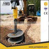 hydraulic earth auger hole digger fence post drill auger drill