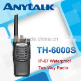 TH-6000S IP-67 waterproof two way radio