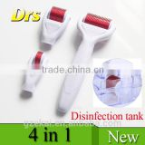 4 in 1 derma roller set best facial skin care product professional DRS dermaroller microneedle roller for acne removal Derma Rol