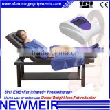 LINGMEI Design presotherapy lymphatic drainage massage lymphdrainage device