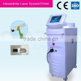 2015 QTS higher power 3766w permanent Hair removal, 755nm Alexanderite laser Beauty Salon equipments