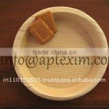 Quality and Neat Finishing Dinnerware Areca Leaf Plates for sale