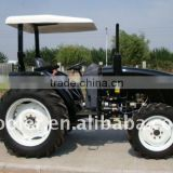 DQ404 agriculture tractor, 40HP 4x4 and implements like plough, harrow, loader, backhoe, mower etc.