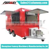 Mobile Towable Food Trailer, food catering trailer/mobile kitchen truck for sale/food service trailer