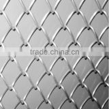 Alibaba Verified China Factory Popular Perimeter fence/Chain Link Fence top barbed wire/cyclone fence