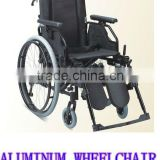 TAW253LACHQ Aluminum drop back handle elevating legrest and quick release axle wheelchair(drum brake)