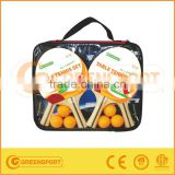 table tennis racket set/with frame/carrybag packing