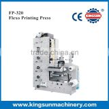 FP-320 Model flexographic Label printing machine