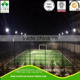 2017 New product PE Material bi colors football field artificial grass roll by wuxi greenlawn