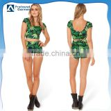 tight swimwear women custom printed bodysuits sublimation