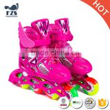 quad 4 wheels roller skate inline rollable shoes for kids