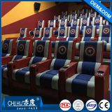 Vip hall cinema chairs,leather electric reclining cinema sofa