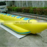 pvc inflatable banana boat for water banana