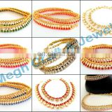 Indian Antique Designer Gold Payal Anklet-Wholesale Designer Kundan Anklets-fancy anklet - regular wear anklets