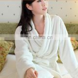 Wholesale Thicken Hotel Coral Fleece Bathrobe For Women
