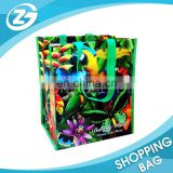 green recycle environmental-friendly bag pp woven packing sack Shopping bag