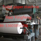 China standard export toilet paper equipment, 1760 toilet paper manufacturing machinery