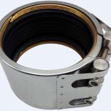 Restrained Pipe Coupling for Brass Ring