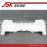 OEM STYLE GLASS FIBER REAR BUMPER WITHOUT REAR DIFFUSER FOR MERCEDES BENZ A-CLASS W176 A45 AMG(JSK061002)
