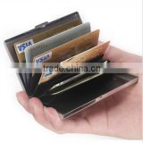 Silver Aluminium Business Creative ID Credit Card Metal Case Box Holder Office