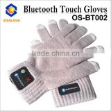 Christmas Gift Winter Warm Gloves with 3 Fingers Knitted Touch Screen Gloves Women/Men Touch Bluetooth Gloves