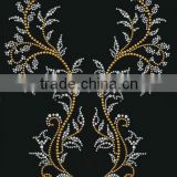 the fashion rhinestones beautiful branches motif hot fix