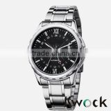 Wholesale Metal Black Dial Mens Sports Wrist watches