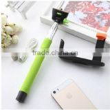 2015 Extendable Handheld Wireless Selfie Monopod Bluetooth Stick Z07-5 for ios Android Phone