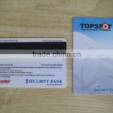 PVC Membership Card with Cardholder's Signature Panel