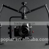 Camera stabilizer China gimbal rig Best stability DSLR double Handheld Video for Digital Camera Camcorder