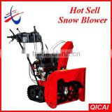 QICAI Loncin 13hp Wheel/Track Snow Thrower/Snow Blower/Snow Remover CE Approval 13HP CB-213
