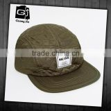 Hot sale winter mixed olives 5 panel spandex dome cap