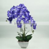 Best selling indoor decoration artificial flowers and foliages/artificial orchid flower