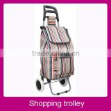 Fashion folding shopping laundry trolley cart