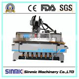 SINMIC cnc wood engraver cnc routing machine wood Furniture use cnc machine woodwork cnc router for sale