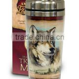 Promotional double wall 16 oz tumbler