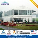 pvc clear span alu structure double floor 10 x 10 gazebo for sale with no interior poles