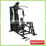heavy duty black painted Multi Station Home Gym body building fitness equipment as seen on TV